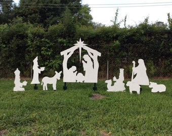 Christmas Lawn Decorations.Camel Yard Art Etsy