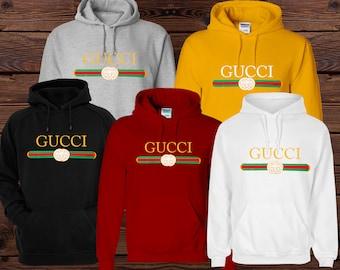 Gucci Unisex con cappuccio, felpa di Gucci, Gucci Vintage Hoodie