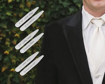 Mens collar stays | Etsy