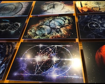 Planetary Hybrid aluminum print series