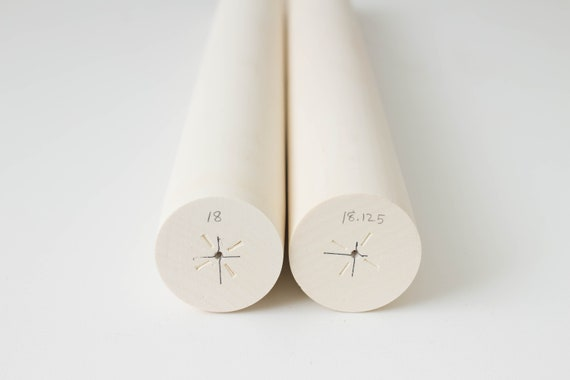Premium Grade Turning Blanks American Holly Lumber White Solid Wood Blocks Square Stock
