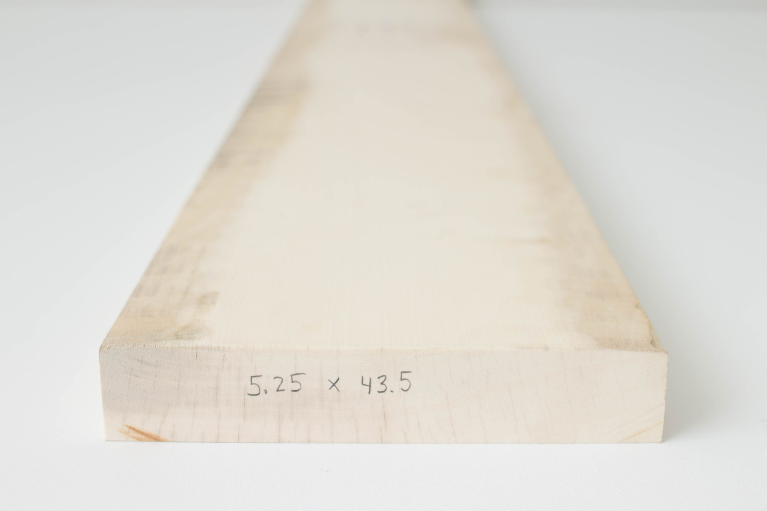 American Holly Lumber, Premium Grade White Solid Wood Planks