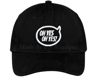 d515f2637fbd7 Oh Yes Oh Yes Hat House Music DJ Techno EDM Drum and Bass Tech House  Embroidered Baseball Dad Cap