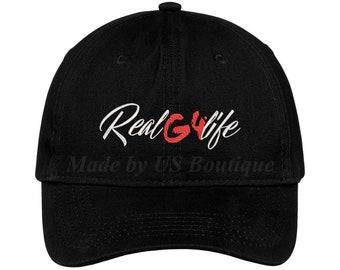 e319d39b794 Real G 4 Life Hat Real Hasta La Muerte Nengo Flow Anuel Reggaeton Trap  Music Embroidered Baseball Dad Cap