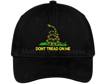 cd8e72768 Tread on me hat | Etsy