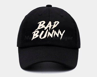 7593cbed8a5 Bad Bunny Cap Embroidered Baseball Dad Cap
