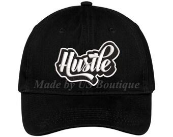 4f4976c6c81a6 Husle Hat Graffiti ART Hip Hop Rap Trap Music Embroidered Baseball Dad Cap