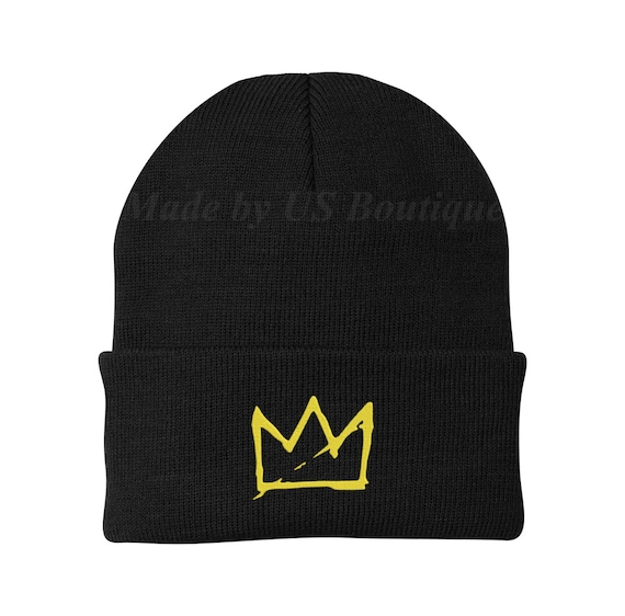 King Crown Custom Personalized Embroidery Embroidered Beanie