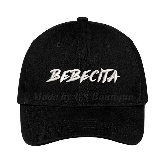 Bebe Bebecita Hat Reggaeton Novia Cap Embroidered Baseball Dad Cap Babe Girlfriend