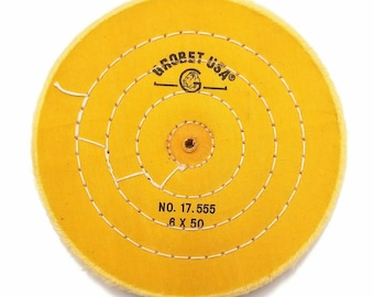 3 Inches 30 Ply BUF-663.30 Chemkote Yellow Buff