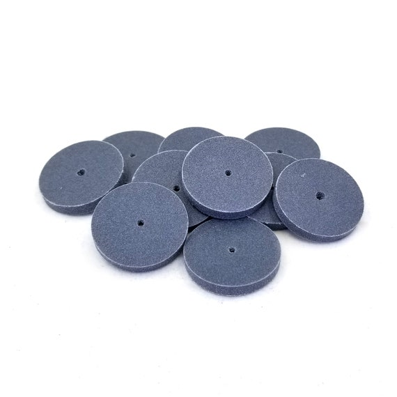 Pack of 10 pieces Eve Silicone Unmounted Square Edge 22x3mm Coarse Jewelry Polishing Wheel