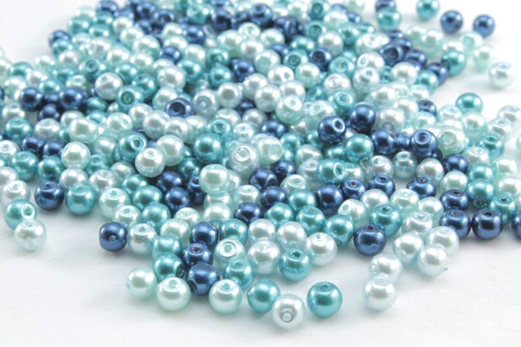 400 BEADS FAUX 4MM ROUND CULTURED PEARL BEADS FOR JEWELRY MAKING /& CRAFTS