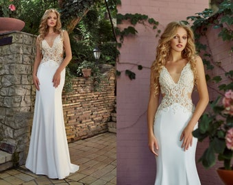 6a4fd11e582 Summer wedding dress