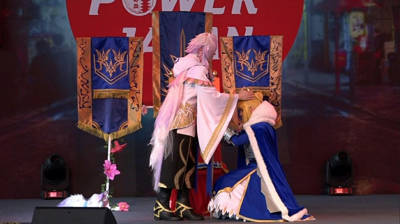 long cosplay wig 200 cm 170 cm fate grand order fgo fate stay night medusa  rider oryou merlin caster