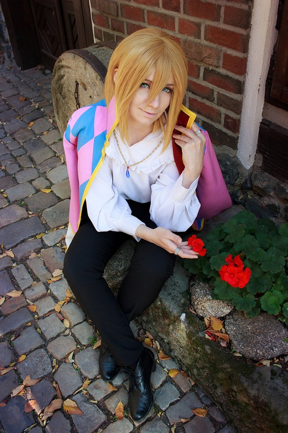 howl's moving castle Howl cosplay jacket costume