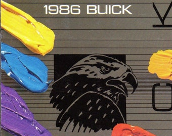 1986 Buick exterior colors