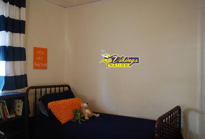 b6dd486b Minnesota Vikings Wall Decal 25x11.5