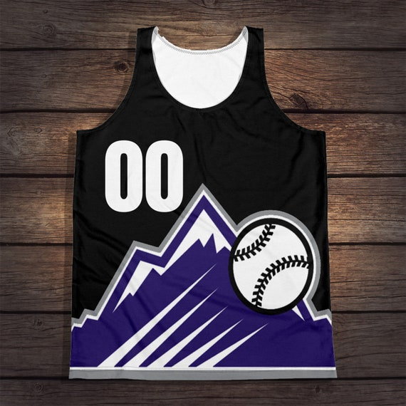 premium selection 40cd3 47a50 Rockie Retro Throwback Jersey (1998) Tank
