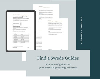 Find a Swede Guides