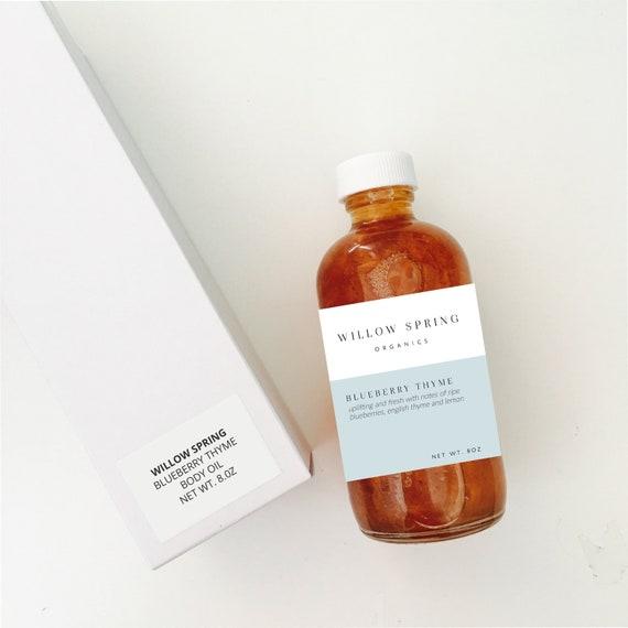 Product Labels DIY Bottle Label Product Label Design Product Stickers  Editable Label Template Jar Label Custom Label Design Premade 119-001