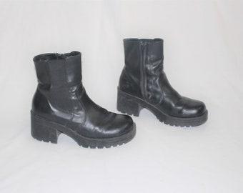 a8b1e851e1338 90s lug sole shoes   Etsy