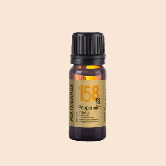 Peppermint oil 100% natural essential oil from Naissance, 10 ml
