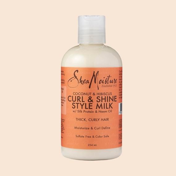 Shea Moisture Coconut & Hibiscus Curl and Shine Shampoo