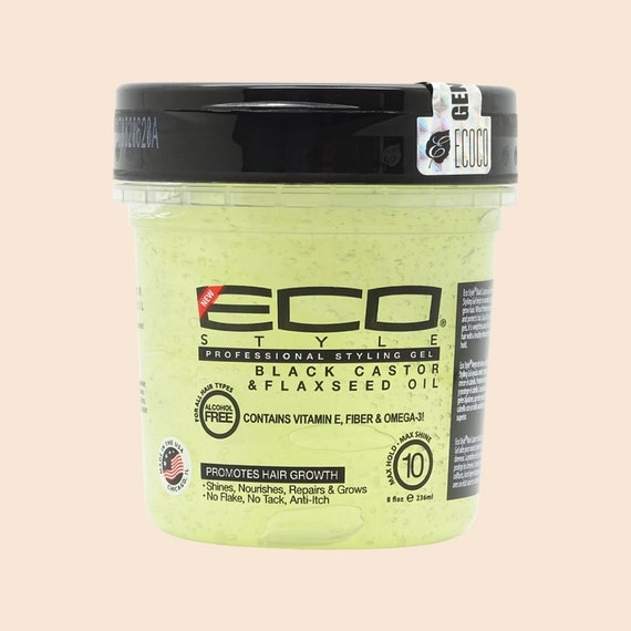Eco Styler Haargel Black Castor & Flaxseed Oil Professional Styling Gel 236ml