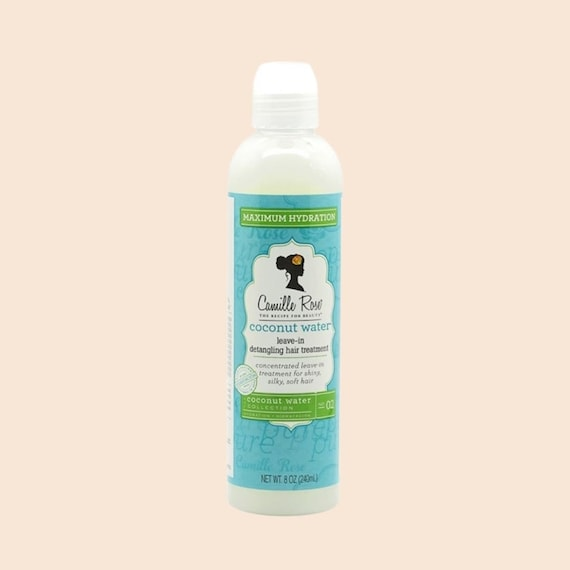 Camille Rose Naturals Coconut Water Leave-In Treatment Leave In Conditioner