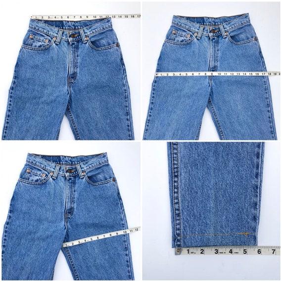 Vintage 512 Levi's Jeans Size 24/25 - image 5