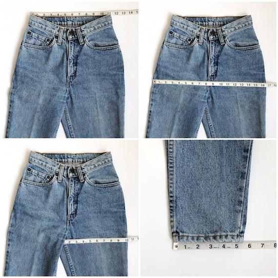 Rare! Vintage 512 Levi's Jeans size 23/24 XS XXS - image 7