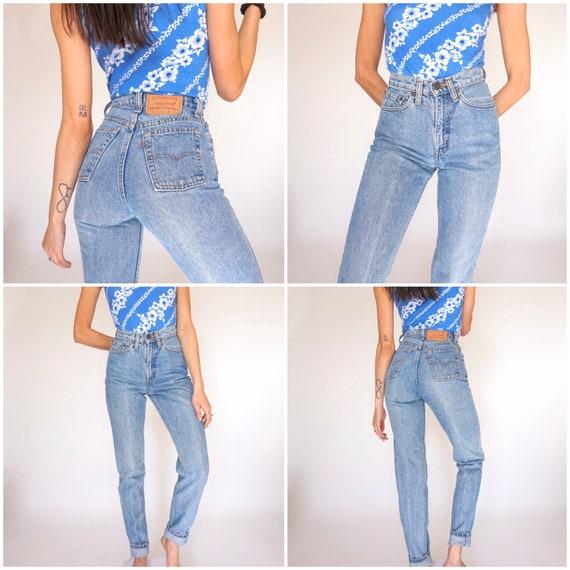 Rare! Vintage 512 Levi's Jeans size 23/24 XS XXS - image 5