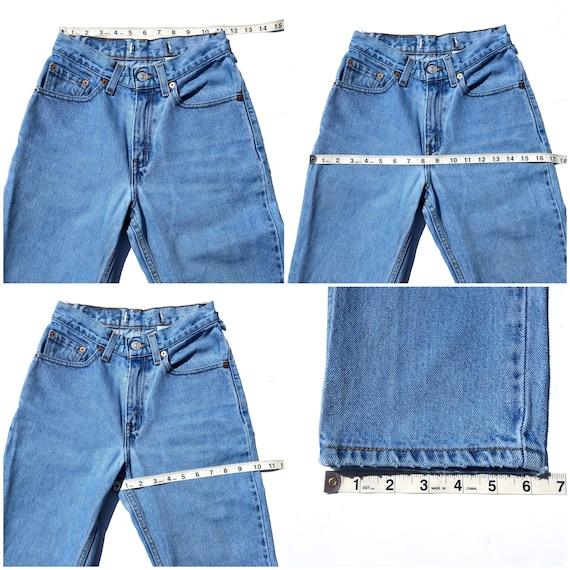 Vintage 512 Levi's Jeans Size 23/24 XS - image 6