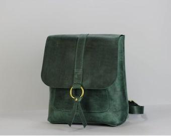 Backpack leather handbag genuine leather bag rucksack diaper backpacks for  hiking children leather backpack handcraft bag mini backpack 296e0cb5acd5e