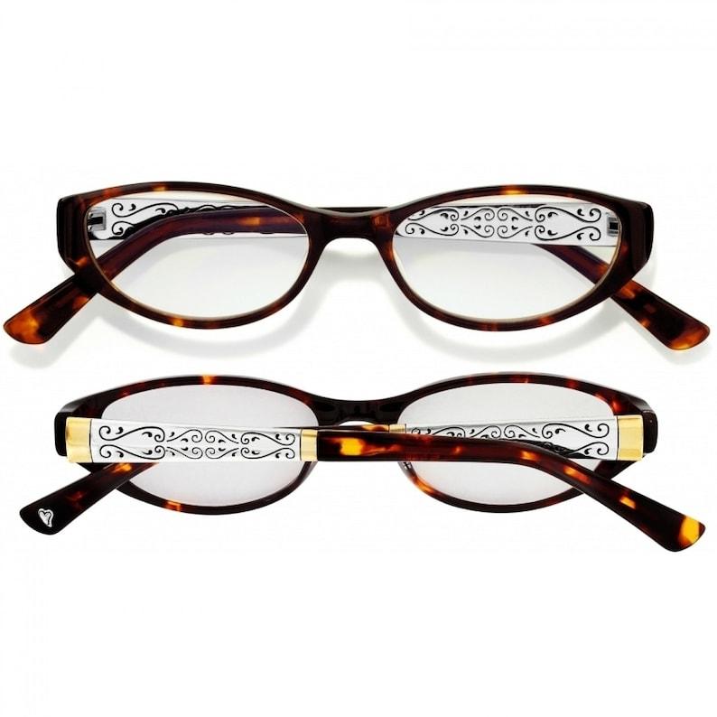 1.01.52.02.5 Women Home Retired Design Rare Find Brighton NWT Brand New Venezia Readers Glasses Silver plated Gold plated