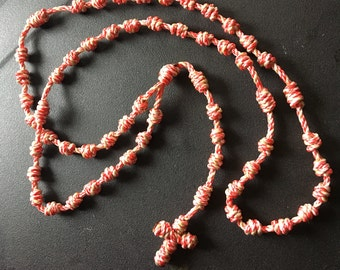 Twine Rosary (Divine Mercy)