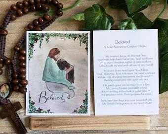 Beloved - Poetry Meditation Card