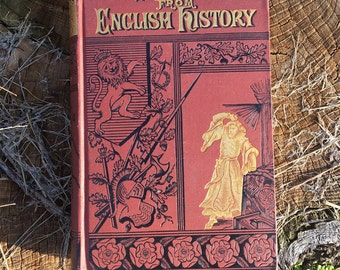1883 ANTIQUE: Pictures from English History