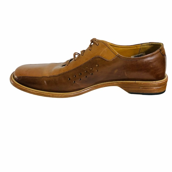 Mezlan Mens Leather Shoes Made in Spain Size 12M … - image 3