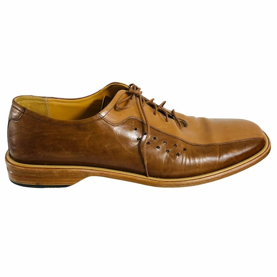 Mezlan Mens Leather Shoes Made in Spain Size 12M … - image 4