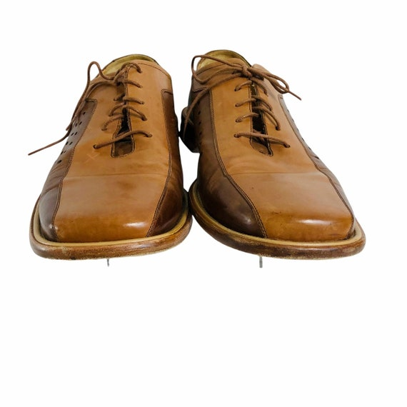 Mezlan Mens Leather Shoes Made in Spain Size 12M … - image 6