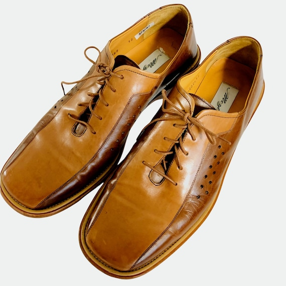 Mezlan Mens Leather Shoes Made in Spain Size 12M … - image 1