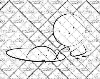 Psychedelic Blotter Art // HELPERS // 400 Hits 17.5 cm x 17.5 cm