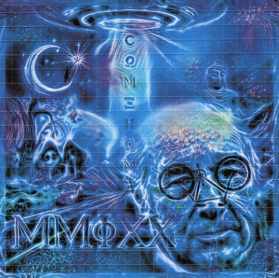 psychedelic goa acid artwork ॐ ALBERT HOFMANN OPEN AIR ॐ hexagon blotter art