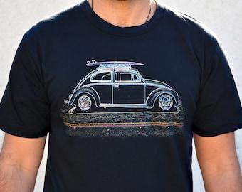 67d73faf47 Surf Bug, VW Bug, Men's Graphic T-Shirt, Volkswagen Beetle