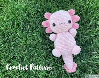 Velvet Axolotl Crochet Pattern
