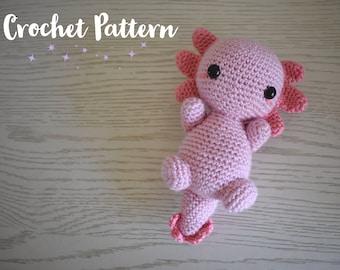 Axolotl Crochet Pattern