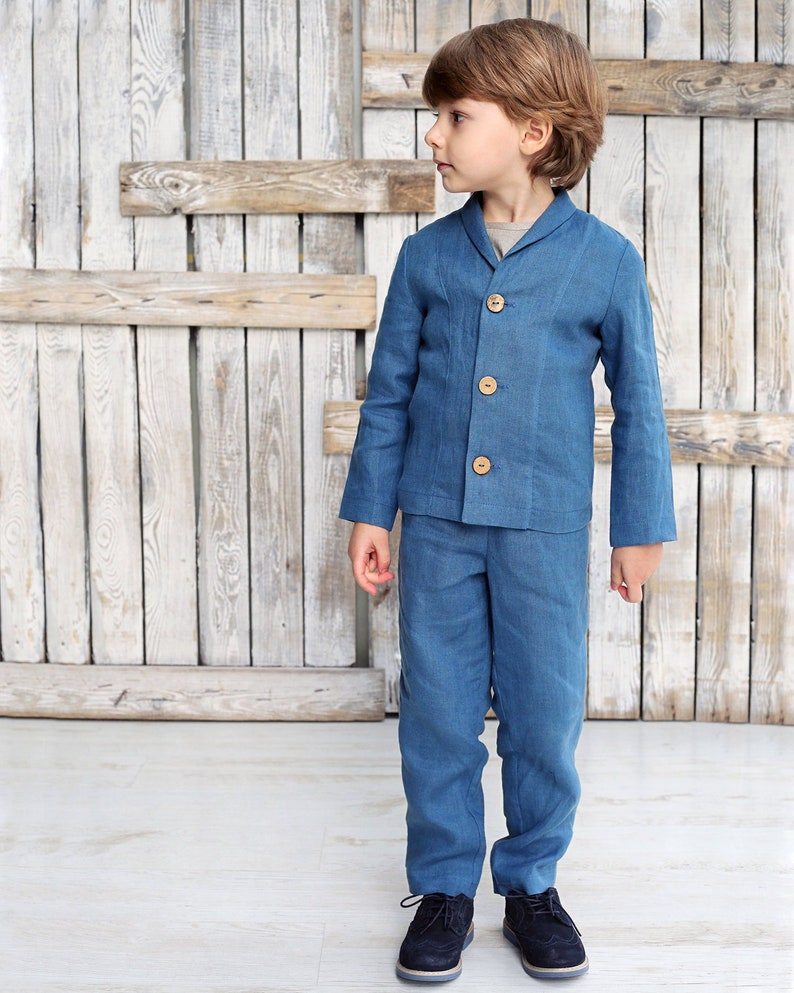 Toddler suits Boys clothing sets Boys linen suit Linen boys outfit Boys suit Linen boys outfit Linen boys suit set Boys suit set