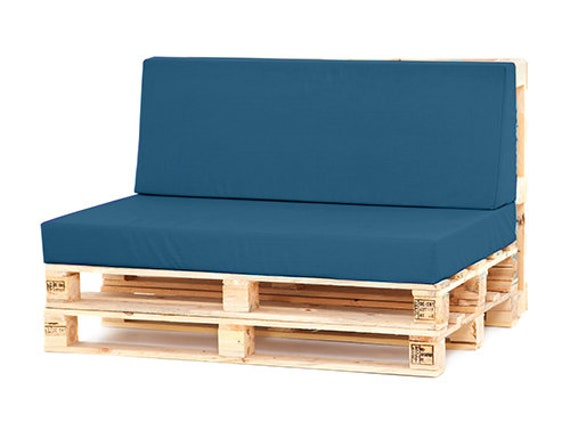 Moroccan Blue Water Resistant Pallet, How To Make Garden Furniture Cushions