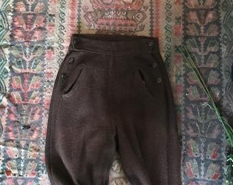 1940s Riding Pants